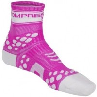 Compressport RUN HI FLUO