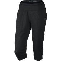 Nike OBSESSED FT CAPRI - Pantaloni trei sferturi de damă