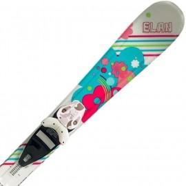 Elan LIL MAGIC 80-90 cm + EL 4.5 VRT - Skiuri de coborâre copii