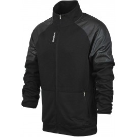 Reebok SPORT ESSENTIALS FABRIC MIX TRACK JACKET