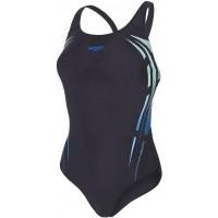 Speedo PLACEMENT POWERBACK - Costum de baie damă