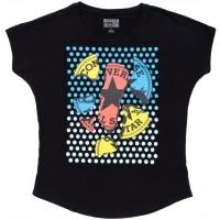 Converse AWT POP CP SCOOP NECK TEE - Tricou de damă