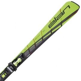 Elan SLX AMPHIBIO FUSION + ELX12 - Ski coborâre damă