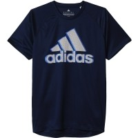 adidas BASE LOGO TEE - Tricou sport de bărbați