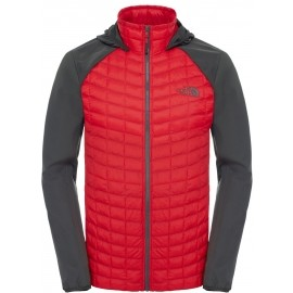 The North Face M THERMOBALL HYBRID HOODIE - Geacă de bărbați