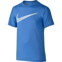 Nike LEG TRAINING CAT HOOK TEE YTH - Tricou de băieţi