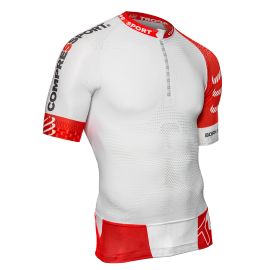 Compressport TRAIL RUN SHIRT V2 B - Tricou alergare bărbați