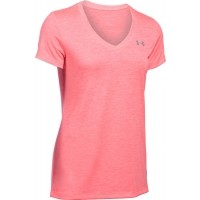 Under Armour TECH SHORT SLEEVE V NECK-TWIST - Tricou funcțional damă
