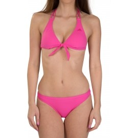 adidas ESSENTIALS 3STRIPES HALTERNECK BIKINI JAQUARD
