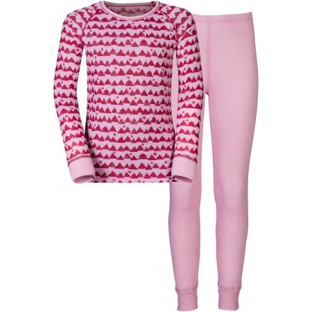 Set funcțional copii - Odlo WARM KIDS SHIRT L/S PANTS LONG SET - 1