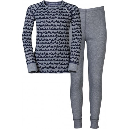 Set funcțional copii - Odlo WARM KIDS SHIRT L/S PANTS LONG SET - 7