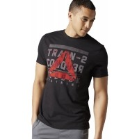 Reebok TRAIN TO CONQUER BRANDMARK TEE - Tricou de bărbați