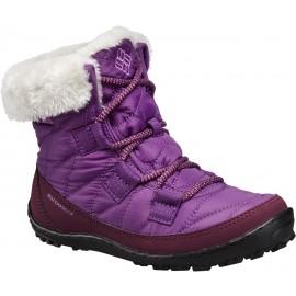 Columbia YOUTH MINX SHORTY OMNI-HEAT WATERPROOF - Încălțăminte iarnă copii