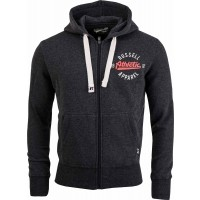 Russell Athletic ZIP THROUGH HOODY WITH CRACKED PRINT