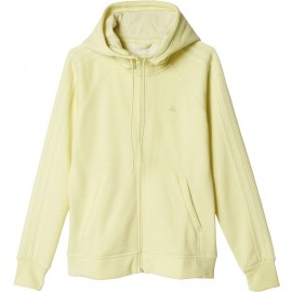adidas ESSENTIALS 3S HOODY BRUSHED