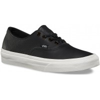 Vans U AUTHENTIC DECON (Tortoise) Black/Blanc de Blanc - Teniși damă
