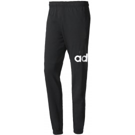 adidas ESSENTIALS PERFORMANCE LOGO TAPERED SINGLE JERSEY PANT - Pantaloni trening bărbați