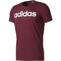 adidas LINEAR PURPLE - Tricou de bărbați