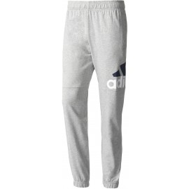 adidas ESSENTIALS PERFORMANCE LOGO TAPERED SINGLE JERSEY PANT - Pantaloni trening bărbați