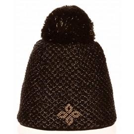 R-JET SPORT FASHION EXLUSIVE LUREX AURIU - Căciulă tricotată damă