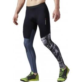 Reebok SPTN M TIGHT - Pantaloni alergare bărbați