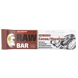 Nutrend RAW BAR 50G KAKAO+NUCĂ
