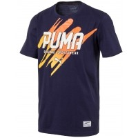 Puma STYLE SUMMER GRAPHIC TEE - Tricou bărbați