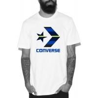 Converse STAR CHEVRON STRIPE FILL TEE - Tricou de bărbați