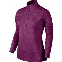 Nike NIKE ELEMENT HALF ZIP - Top de alergare femei