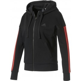 adidas ESSENTIALS 3 STRIPES FULLZIP HOODIE