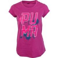 Puma FOND STRIPES TEE - Tricou de damă