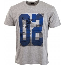 Russell Athletic PHOTO EFFECT TEE - Tricou de bărbați - Russell Athletic