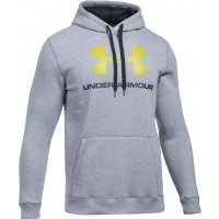 Under Armour RIVAL FITTED GRAPHIC HOODIE - Hanorac de bărbați