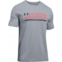 Under Armour UA WORDMARK LOCK UP SS - Tricou de bărbați