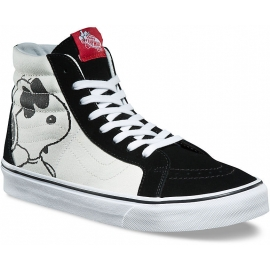 Vans SK8-HI REISSUE (PEANUTS) JOE COOL Black