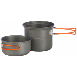 Vango HARD ANODISED 2 PERSON COOK KIT - Set de gătit anodizat
