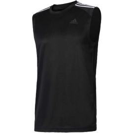 adidas DESIGN TO MOVE SLEEVELESS 3 STRIPES
