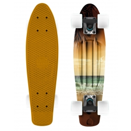 Long Island BEACH22 - Mini longboard de plastic