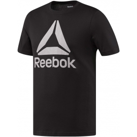 Reebok STACKED LOGO CREW NEW - Tricou de bărbați