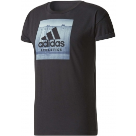 adidas ESS CATEGORY REGULAR TEE - Tricou de bărbați