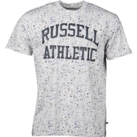 Russell Athletic S/S CREW NECK TEEWITH ALLOVER  SPLATTER PRINT - Tricou bărbați