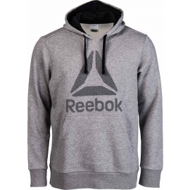 Reebok WORKOUT READY BIG LOGO HOOD - Hanorac de bărbați