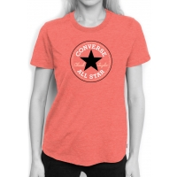 Converse CORE SOLID CHUCK PATCH CREW - Tricou de damă