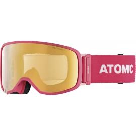 Atomic REVENT S FDL STEREO - Ochelari de ski coborâre