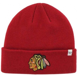 47 NHLCHICAGO BLACKHAWKS 47 CUFF KNIT BEANIE