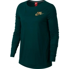 Nike NSW ESSNTL TOP LS METALLC W