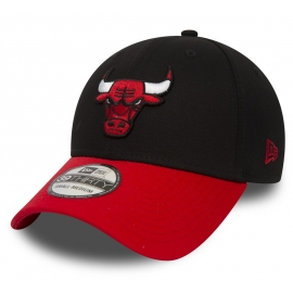 New Era 39THIRTY NBA BLACK CHICAGO BULLS - Șapcă de club
