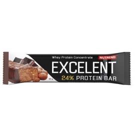Nutrend EXCELENT 2X85G+1x40G CIOCOLATĂ+ALUNE - Baton cu proteine
