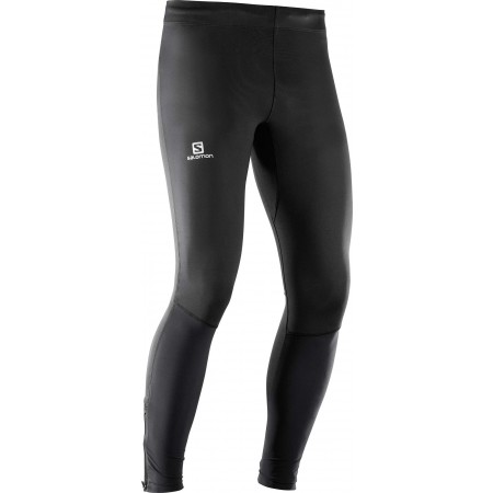 Pantaloni de alergare bărbați - Salomon AGILE LONG TIGHT M - 1
