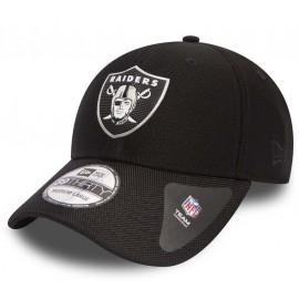 New Era 39THIRTY NFL BLACK OAKLAND RAIDERS - Şapcă de club bărbați